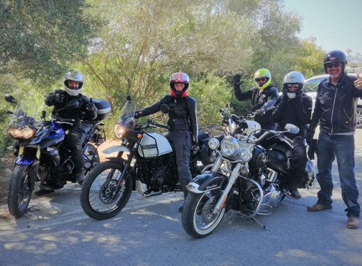 Bikers in Catalunya
